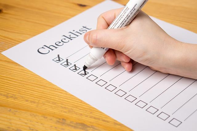 GoBD - Checkliste