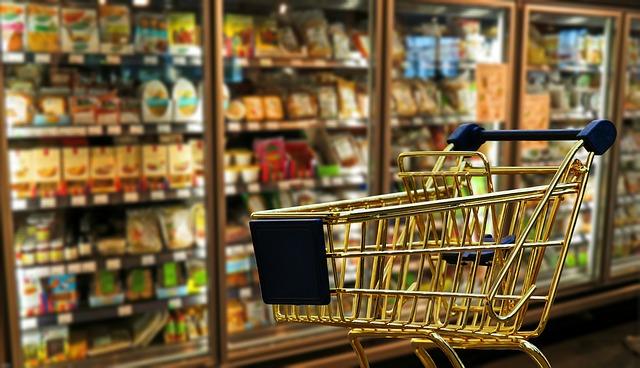 Kassensysteme Einzelhandel - Einkaufswagen